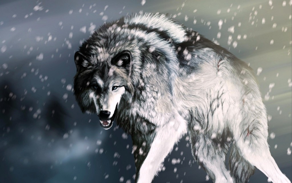 hunting-wolf